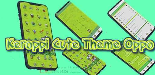 Tema Keroppi Untuk Oppo A71, A83, A3S, A5S, A5, A7, F3, F5, F7, F9, A31 | Tema All Oppo dan Realme