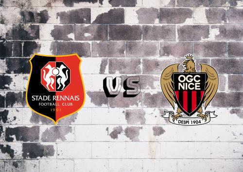 Rennes vs Nice  Resumen