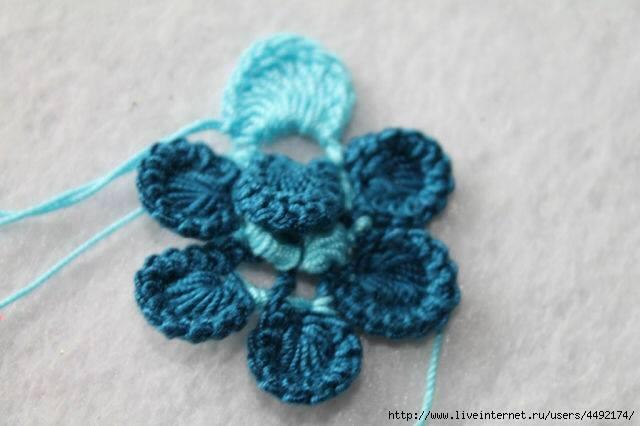 Tutorial Paso a Paso: Flor Rusa a Crochet