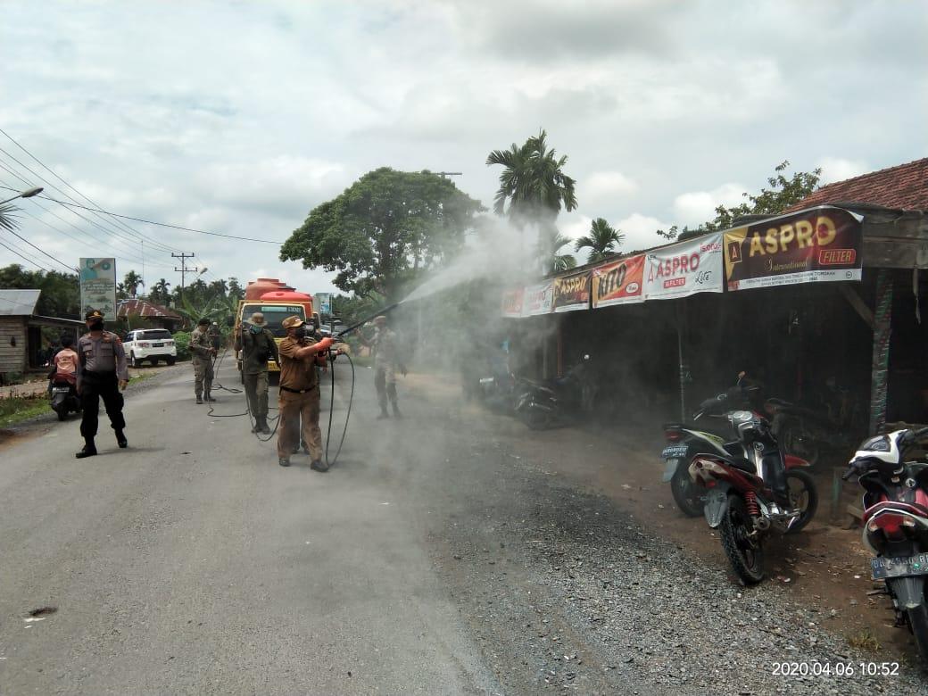 SKK Migas-PetroChina Berikan Bantuan Dan Lakukan Disinfeksi   di Tanjung Jabung Barat Untuk Cegah Penyebaran COVID-19