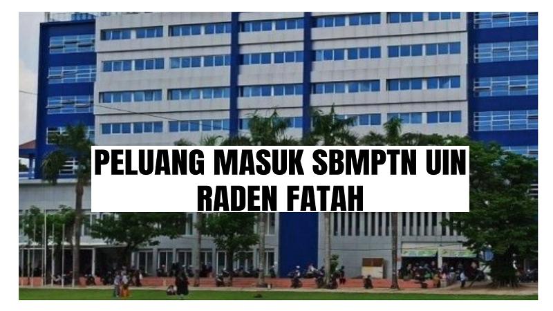 Peluang Masuk SBMPTN UIN Raden Fatah 2021/2022