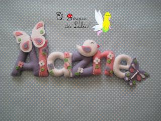 nombre-fieltro-felt-feltro-decoración-infantil-elbosquedelulu-hechoamanoparati-regalo-personalizado-name-banner-babyroom-detalles-nacimiento