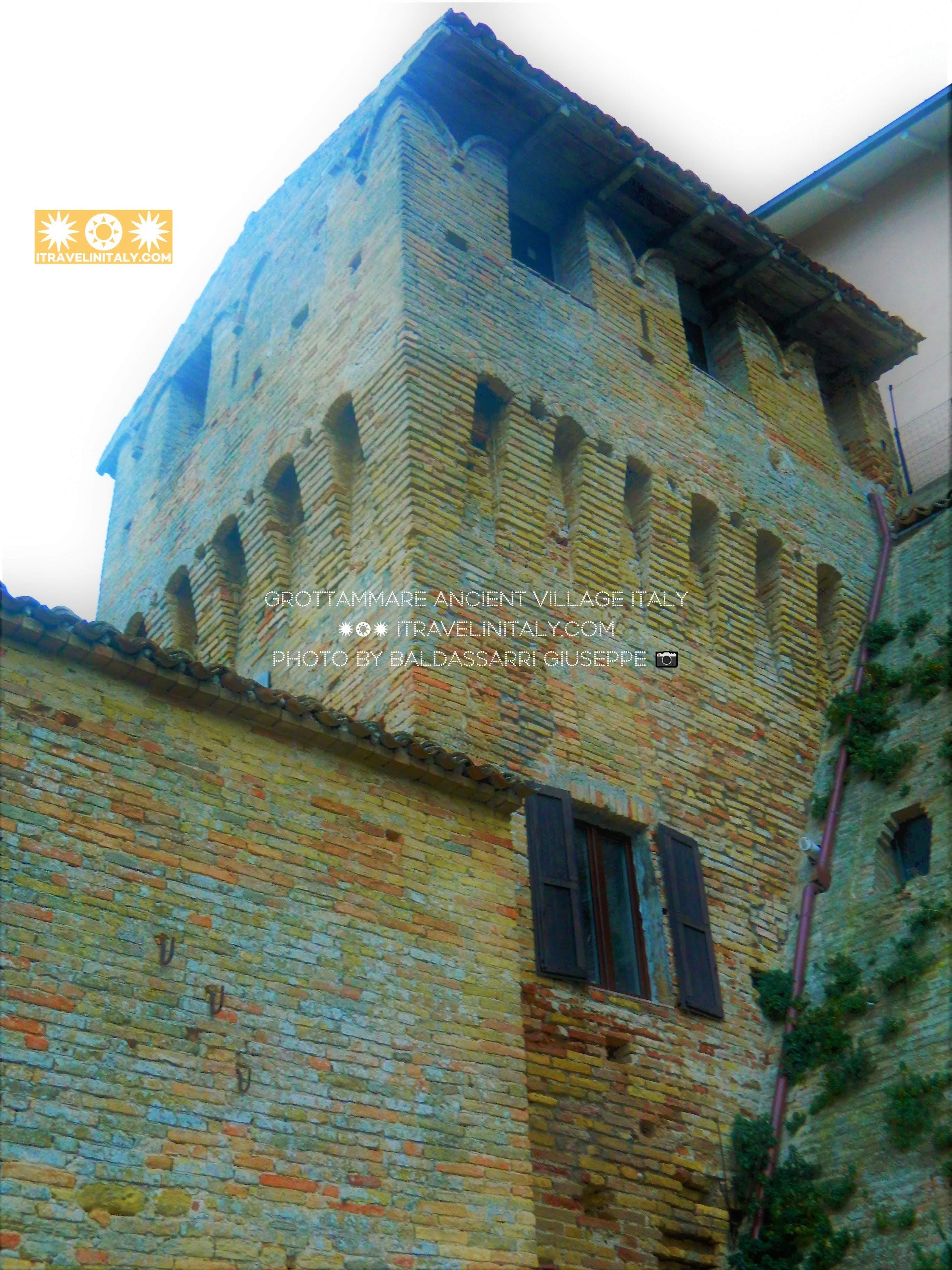 Grottammare ancient village, Via del Castello, 63066 Grottammare AP. Italy itravelinitaly.com By Baldassarri Giuseppe