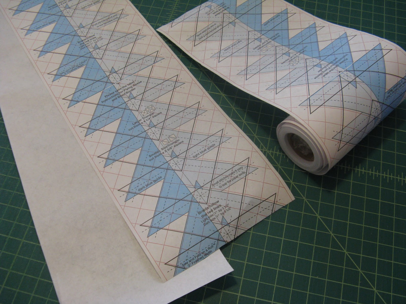 Flying Geese Tutorial With Our Sew And Fold Paper
