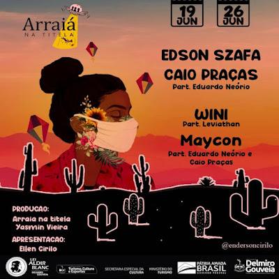 Em Delmiro Gouveia, Festival Arraía na Titéla acontece nos dias 19 e 26 de junho, com transmissão pelas redes sociais
