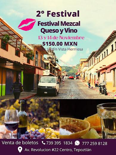 festival del mezcal vino y queso tepoztlan 2021