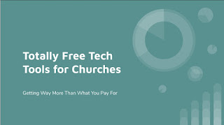 Free technology tools for churches, schools, businesses in Jax