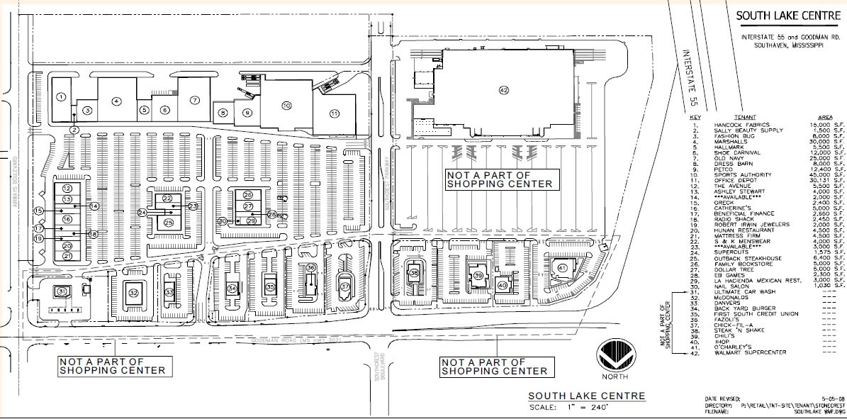 Back To The Original Post: Here Is A Tenancy Map, As Found In This PDF  File, That Appears To Be From 2008. The Thirty Tenants Of The Center (plus  Some ...