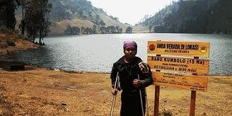 pendaki gunung penyandang cacat