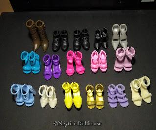 Barbie doll BMR Kira accessories shoes