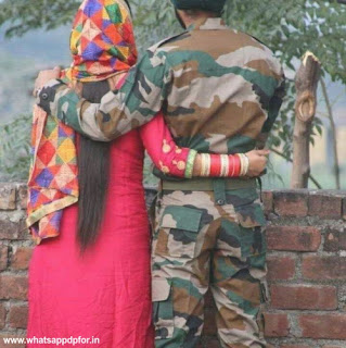 indian army couple dp