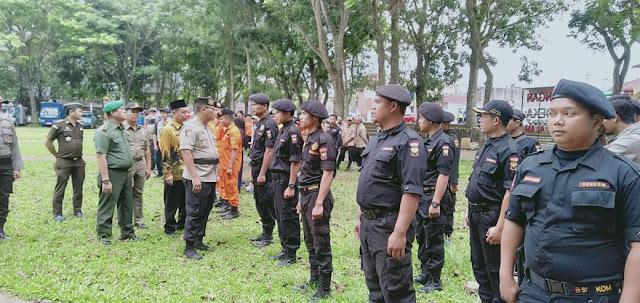 Apel Siaga Bencana 2019 Polres Cek Kesiapan Seluruh Personel dan Kelengkapan