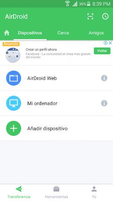 Descargar e instalar AirDroid en tu teléfono