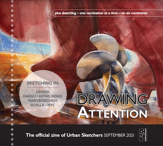 Drawing Attention - September 2021 thumbnail