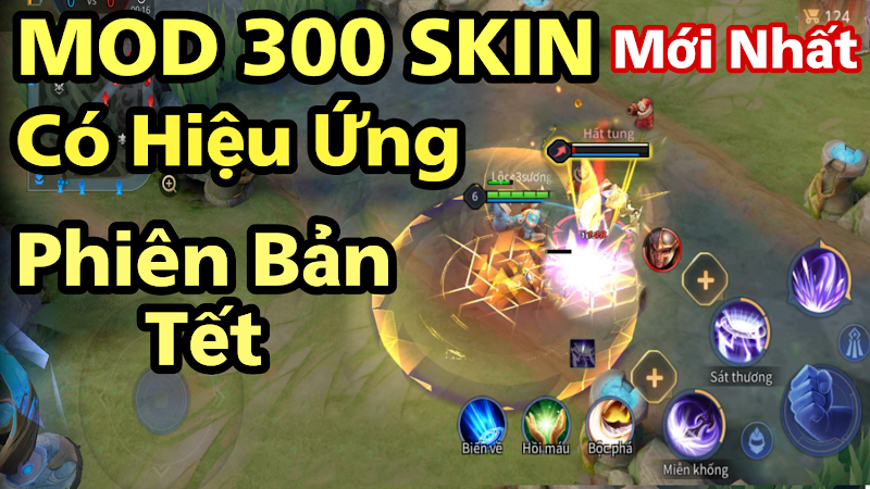 MOD Skin LQM v3.0 TẾT