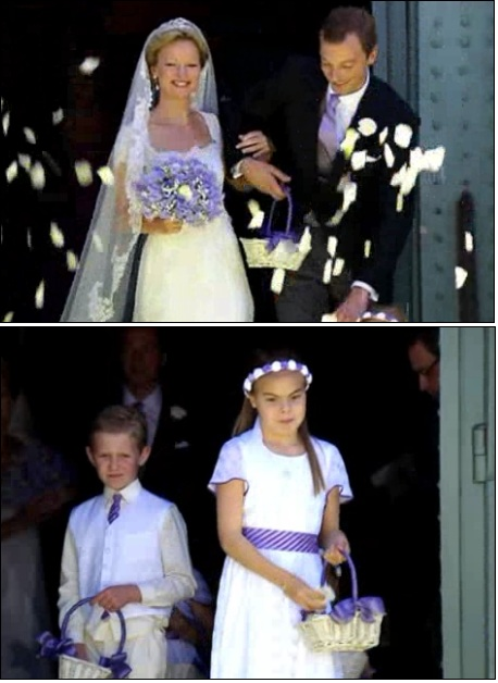 Huwelijk Carolina En Albert De Oranjes