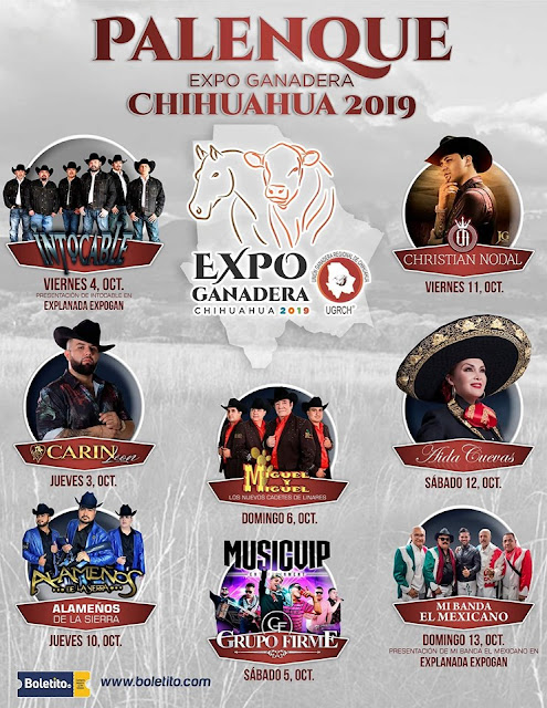 palenque feria ganadera chihuahua 2019