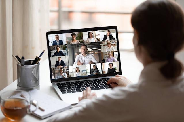 réunion rétrospective en ligne