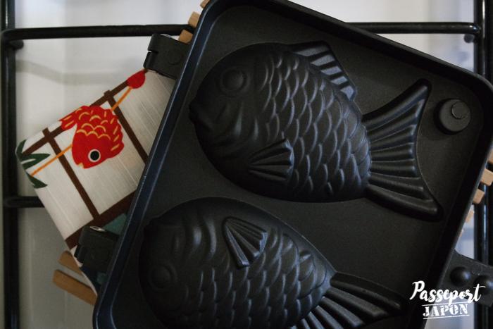 Moule à taiyaki