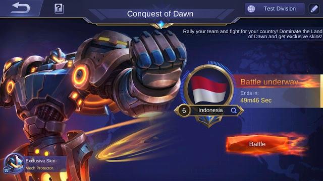 Apa itu Global Conquest Mobile Legends, berikut Penjelasannya