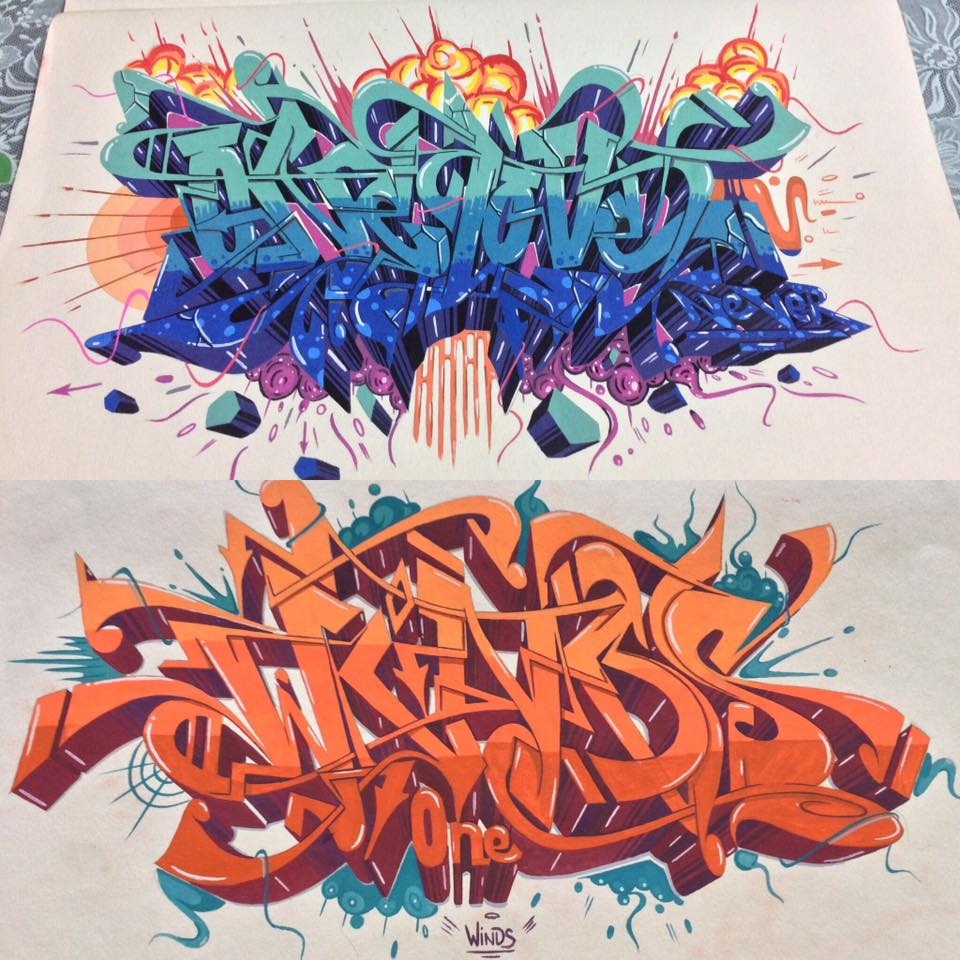 Graffiti collection ideas graffiti letters ideas by hoang cu