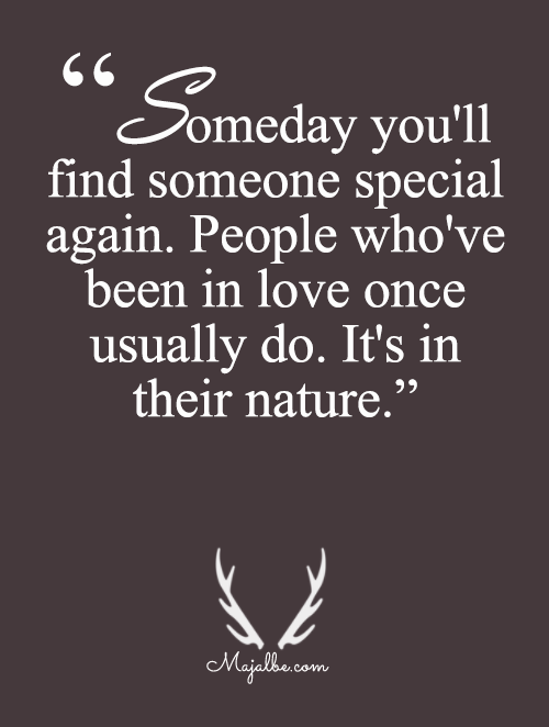 Someday You'll Find Someone
