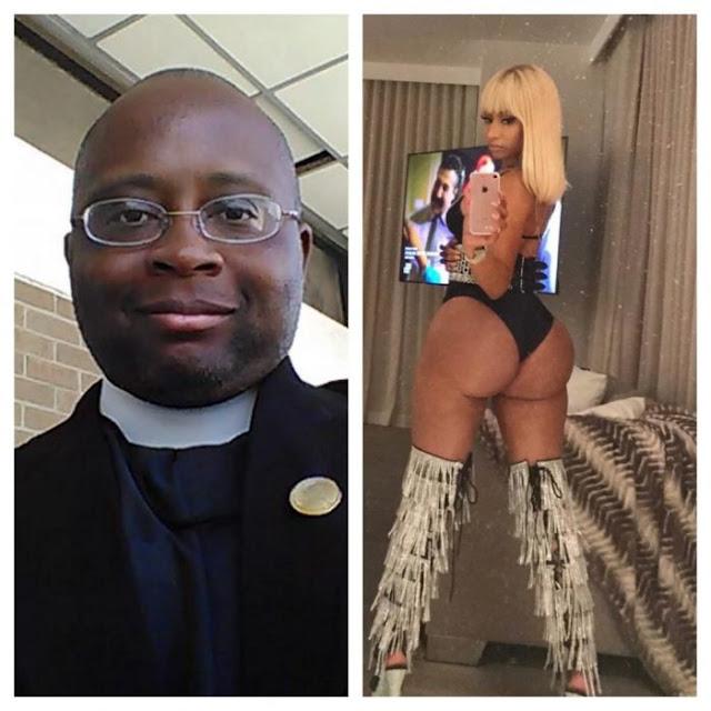 Pastor escribe mensaje lujurioso a rapera Nicki Minaj