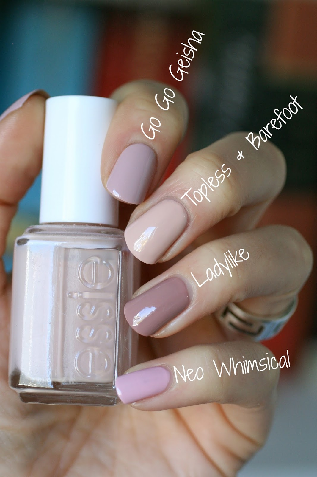Essie Fall 2016 Kimono Over Collection - Swatches, Review ...