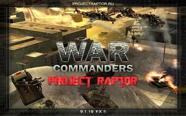 مود project raptor War Commanders 9.1.19 للجنرال زيرو