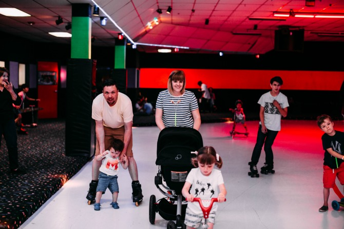 roller skating party ideas