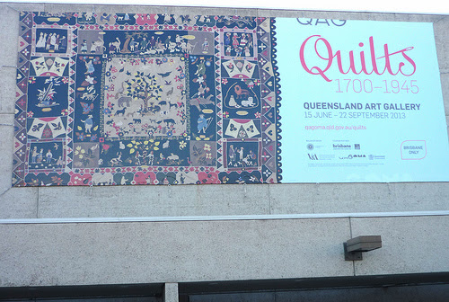 The Saturday Quilters go to Brisbane.