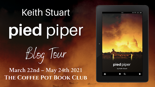 [Blog Tour] 'Pied Piper' By Keith Stuart #HistoricalFiction #WW2
