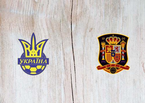 Ukraine vs Spain -Highlights 13 October 2020