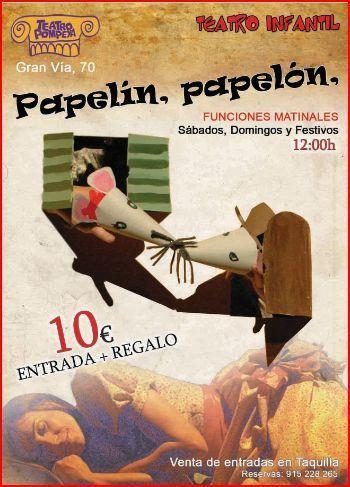 Semana Santa en Madrid con niños. Papelín, papelón , este cuento se acabó.