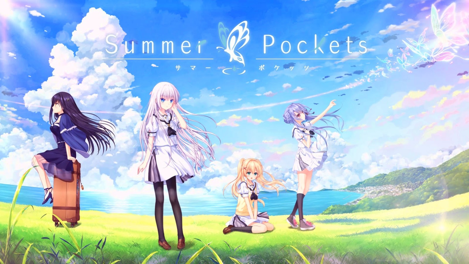Visual Novel Summer Pockets Việt hóa