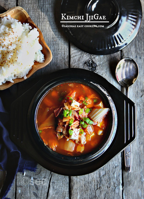 Kimchi JjiGae #koreanfood #homemade #kimchi #stew
