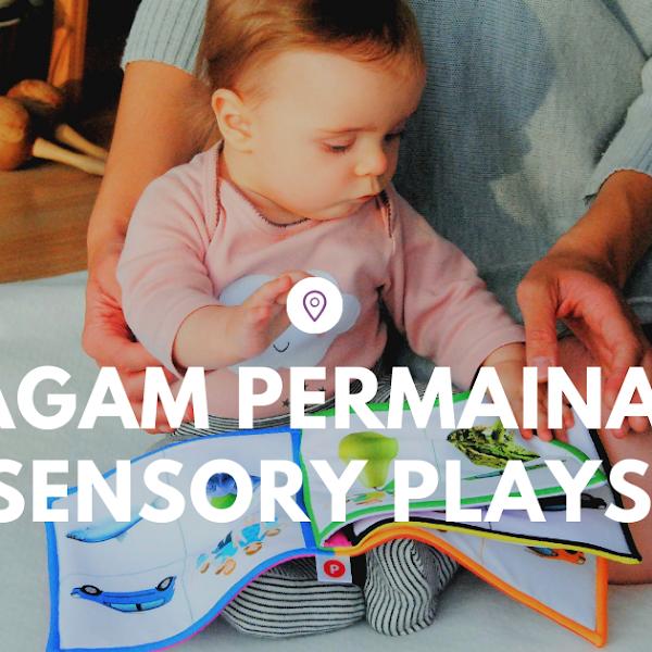 Contoh ragam permainan sensory play