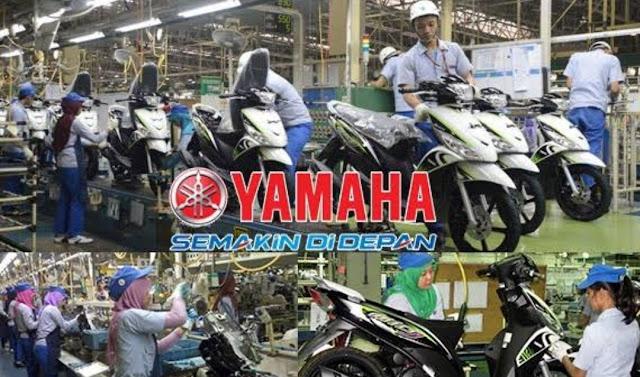 Informasi Rekrutmen Karyawan PT Yamaha Indonesia Motor Manufacturing (YIMM) - Periode April 2020