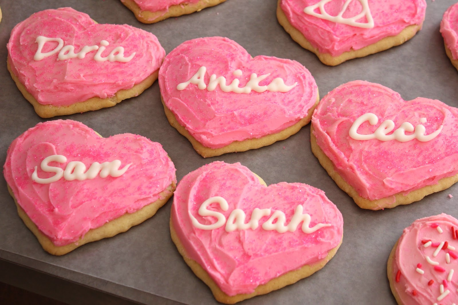 Punkie Pie S Place Valentine S Day Sour Cream Cutout Cookies