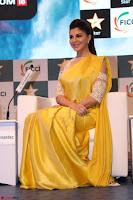 Gorgeous Jacqueline Fernandez  in yellow saree 44.JPG