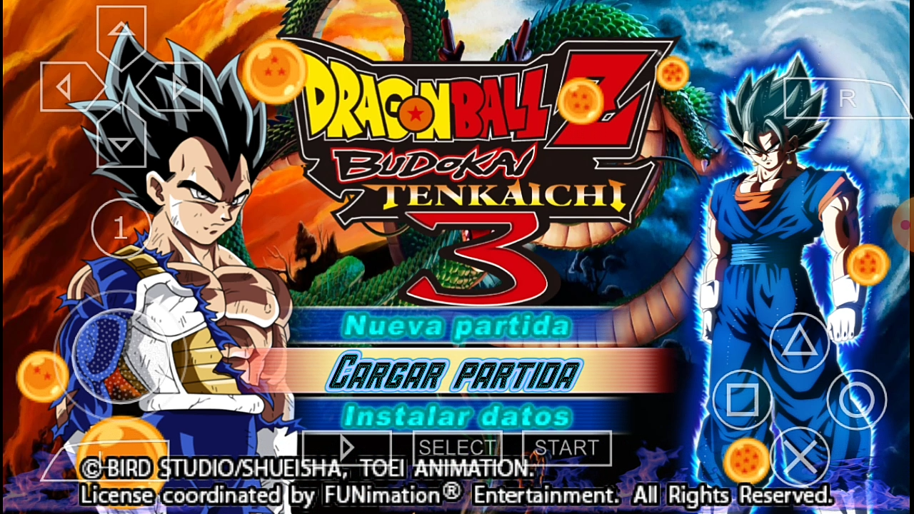 DBZ TTT MOD Menu Download