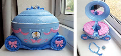 Disney jewellery box, Cinderella jewellery box, Cinderella jewelry box