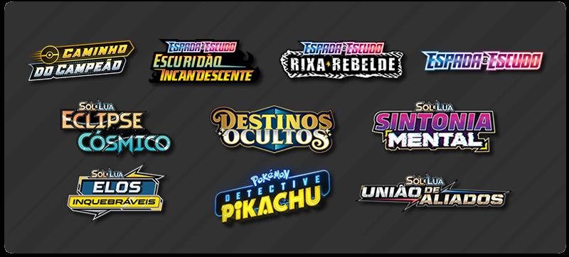 Expansões Pokémon TCG
