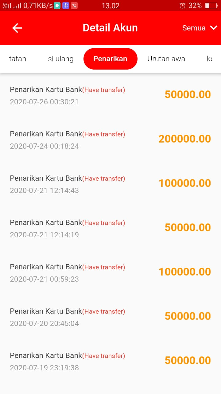 MAKE MONEY : Bukti Transfer