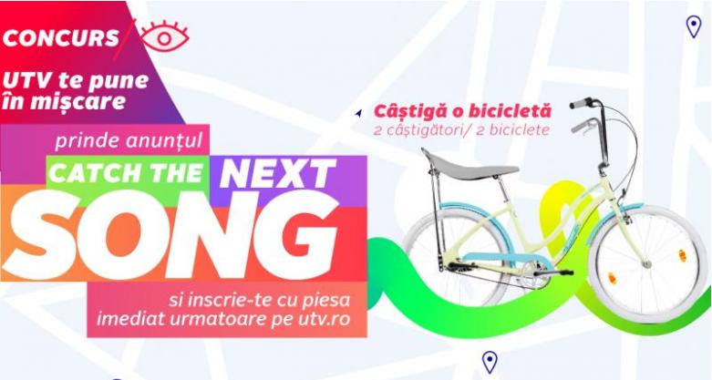 Concurs - UTV te pune in miscare - bicicleta - vara - gratis - giveaway - pegas - miscare - castiga.net