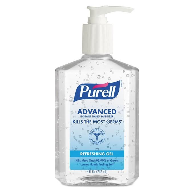 Purell Instant Hand Sanitizer, Pump (67.6 Oz)