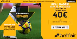 betfair supercuota Real Madrid gana a Valladolid 24 agosto 2019