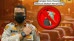 Kompol Rikki Ramadhan, SIK Polsekta Medan Kota Berkontribusi Sukseskan PPKM Darurat