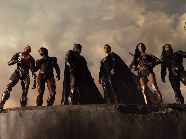 Zack Snyder's Justice League 2021 English 720p HDRip