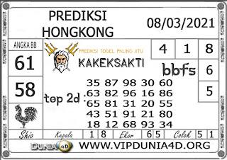 Prediksi Togel HONGKONG DUNIA4D 08 MARET 2021